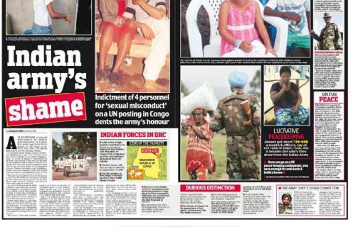 Indian Armies shame